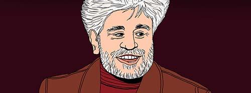 Portrait von Pedro Almodóvar.