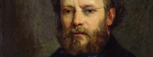 Portrait of Pierre Joseph Proudhon, 1865.