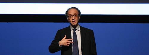 Ray Kurzweil an der UP Experience 2008.