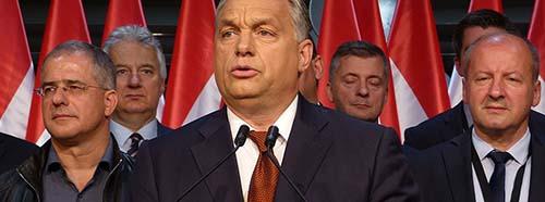 Viktor Orbán (Bálna, Budapest, Hungary).
