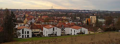 Blick auf Regensburg.