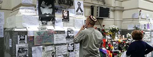 Gedenken an Santiago Maldonado, Buenos Aires, Oktober 2017.