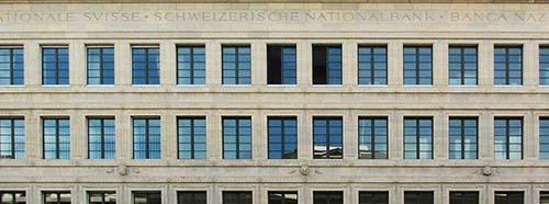 Zürich, Schweizerische Nationalbank, Börsenstrasse 15  17.