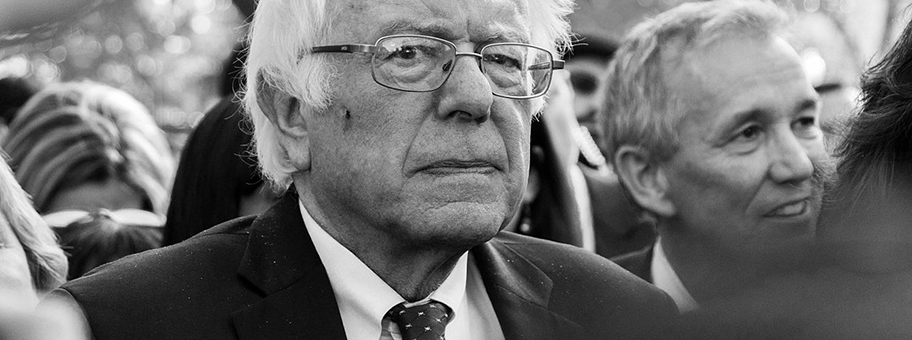 Bernie Sanders am Day of Action People's Rally, Washington DC, Januar 2017.
