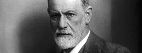 Sigmund Freud, ca. 1921.