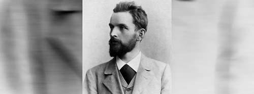 Silvio Gesell, 1895.