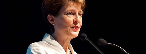 Die Schweizer Bundesrätin Simonetta Sommaruga.