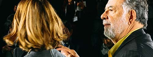 Francis Ford Coppola am internationalen Film Festival von Tokyo.