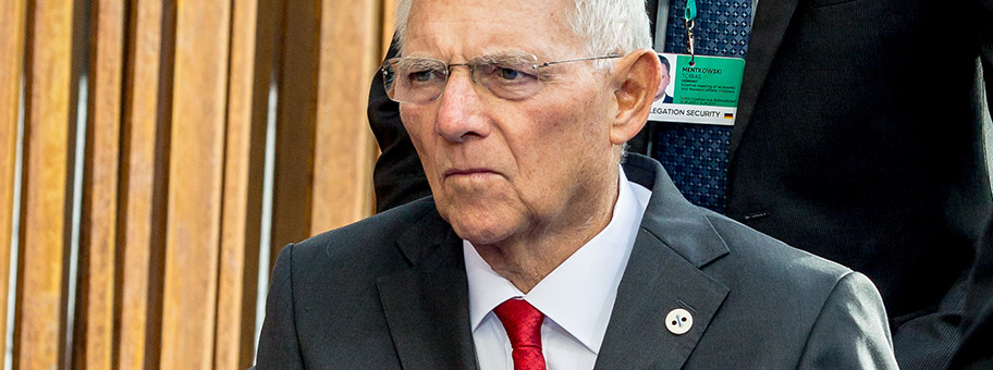 Wolfgang Schäuble, September 2017.