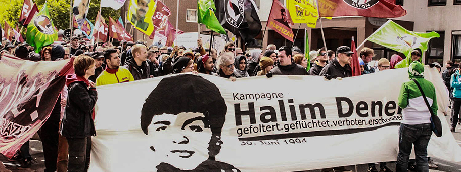 Demonstration in Hannover zu Gedenken an Halim Dener.